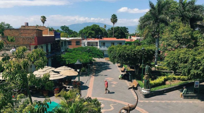 Ajijic Mexico town center