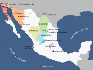 Mexico-wine-region-map