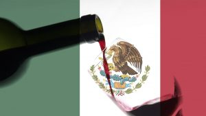 wine and flag