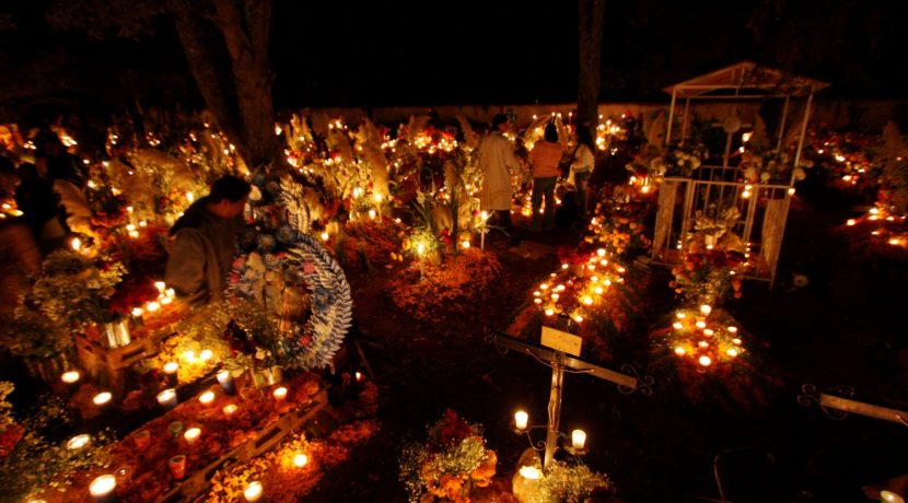 Day of the Dead cemetary