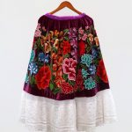 Textiles of Mexico skirt enagua