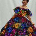 Textiles of Mexico skirt posahuanco
