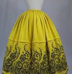 Textiles of Mexico skirt refajo