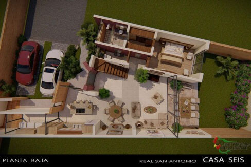 Condominio Real San Antonio Casa 6 - Home for Sale - San Antonio Tlayacapan